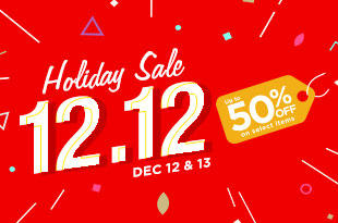 12.12 Holiday Sale at Robinsons Department Store