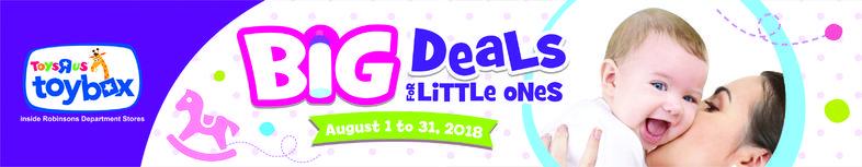 Big Deals For Little Ones