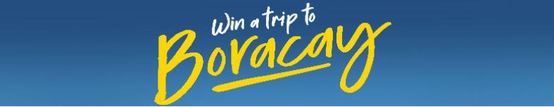 Summer Raffle Promo: Win a Trip to Boracay