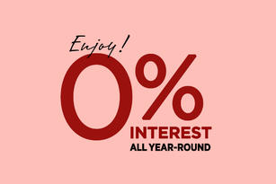 Shop At 0% Interest This 2020
