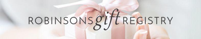 Robinsons Gift Registry
