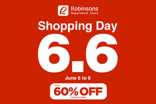 6.6 Shopping Day at Robinsons Department Store!