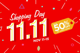 11.11 Shopping Day at RDS!