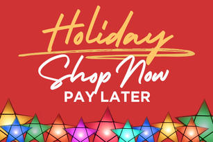 Holiday Shop Now Pay Later 2020
