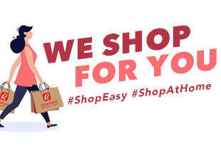 WE SHOP FOR YOU