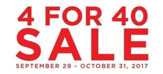 4 For 40 Sale