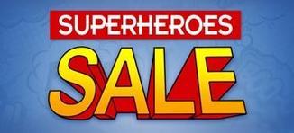 Superheroes Sale