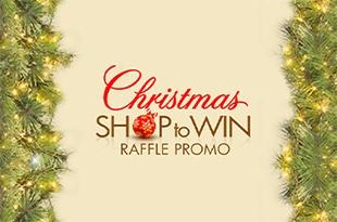 Christmas Shop to Win Raffle Promo