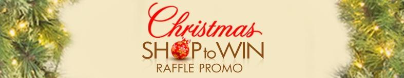 Christmas Shop to Win Raffle Promo