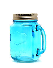 Colored Mason Jar