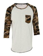3/4 Raglan Camouflage Combi