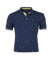Prnted Polo Shirt