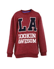 Pullover Jacket LA Looking Awesome