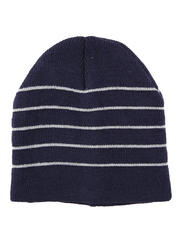 Men's Bonnet with Small Stripes