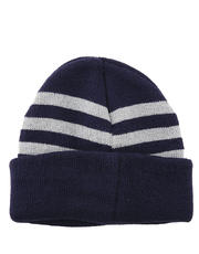 Men's Bonnet with Medium Stripes