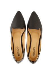 Textured Pointed Flats