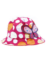 Hat Polka Dot with Butterfly