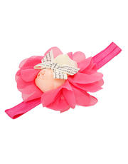 Turban 2 Rose with Ribbon