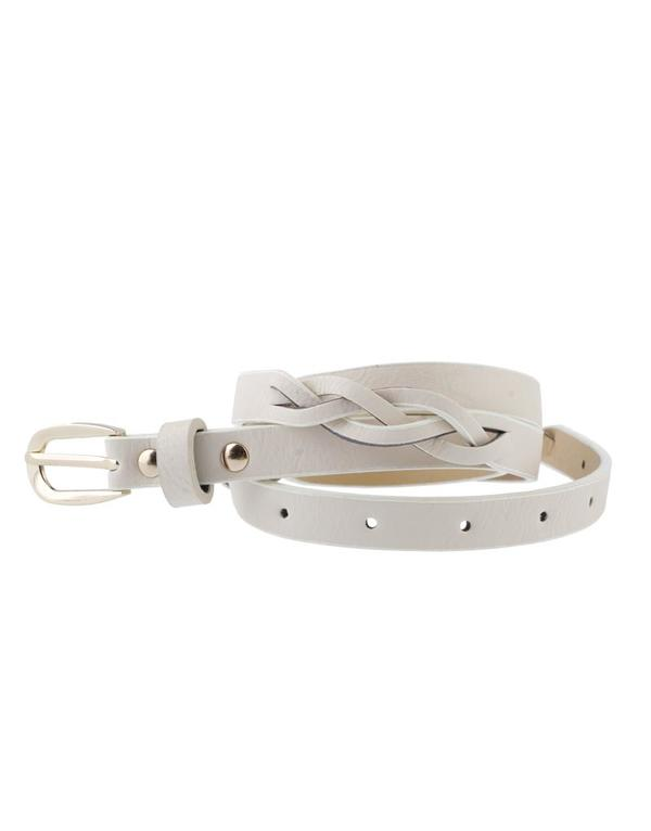 Slim Twisted Belt