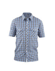 Short Sleeves Mini Plaids