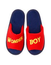 wonder boy bedroom slippers