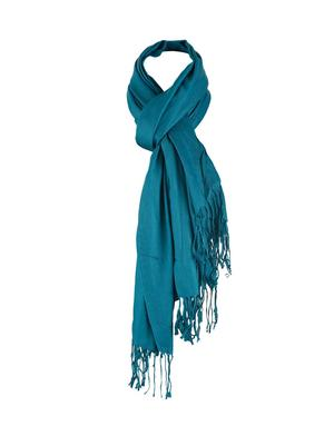 plain shawl with tassel
